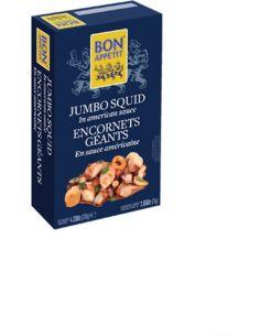 Kałamarnice marynowane w sosie konserwa 120g BON APPETIT