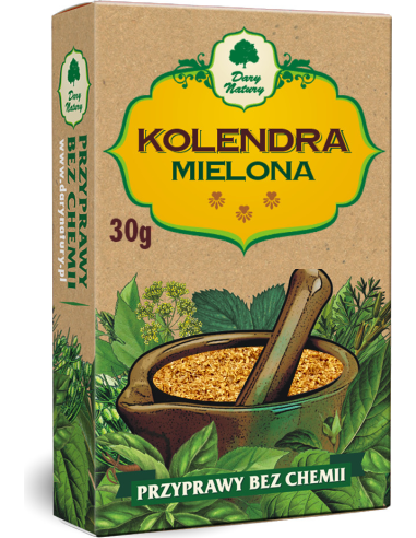 Kolendra mielona 30g*DARY NATURY*