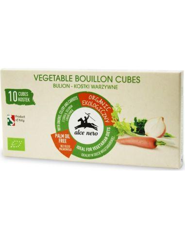 Kostki rosołowe / bulion warzywny 10 sztuk ALCE NERO BIO