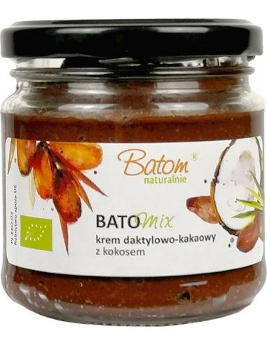 Krem Batomix daktylowo-kakaowy z kokosem 200g BATOM BIO