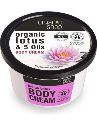 Krem / balsam do ciała **Organic Lotus & 5 Oils** 250m*ORGANIC SHOP*BIO