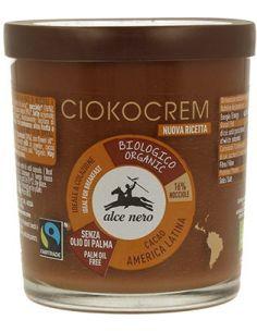 Krem orzechowo- czekoladowy 180g ALCE NERO BIO