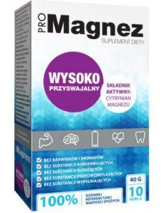 Magnez **Cytrynian Magnezu** saszetki 30 x 4g*PROPHARMA*
