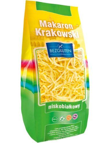 Makaron Krakowski nitki grube PKU 250g BEZGLUTEN