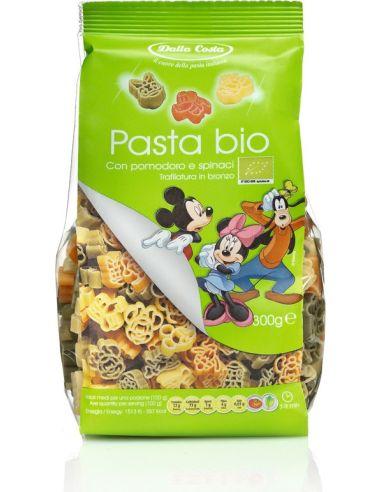 Makaron pszenny **Disney Mickey** dla dzieci kolorowy 300g*DALLA COSTA*BIO