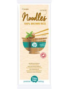 Makaron ryżowy bezglutenowy spaghetti brązowy 250g*TERRASANA*BIO