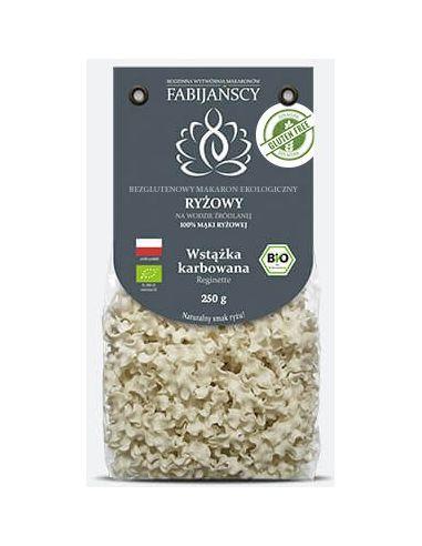 Makaron ryżowy wstążka karbowana...