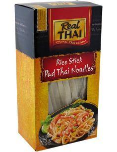 Makaron ryżowy wstążka szeroka 375g REAL THAI