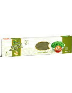 Makaron z zielonego groszku spaghetti bezglutenowy 250g*SAMMILLS*