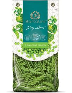 Makaron z zielonego groszku świderki 250g*BARTOLINI*