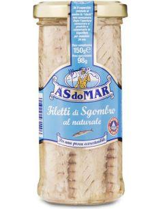 Makrela filety w zalewie słoik 150g*ÀSDOMAR*