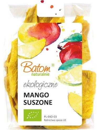Mango suszone plastry 125g BATOM BIO