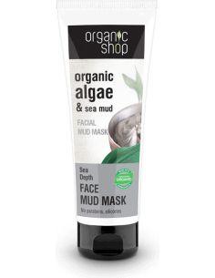 Maseczka do twarzy głęboko oczyszczająca **Algae & Sea mud** 75ml*ORGANIC SHOP*