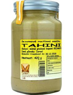 Masło **Tahina / Tahini** sezamowe 420g*NATURAL*