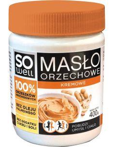 Masło arachidowe kremowe 400g SOWELL