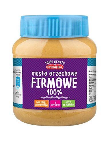 Masło orzechowe **Firmowe**...