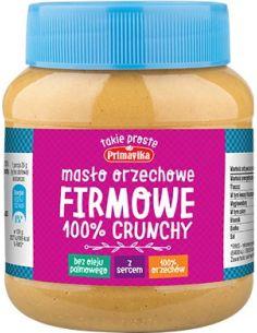 Masło orzechowe **Firmowe** crunchy 350g*PRIMAVIKA*