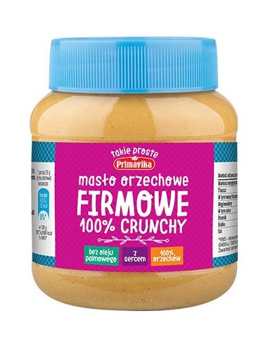 Masło orzechowe **Firmowe** crunchy...
