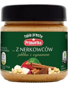 Masło orzechowe z nerkowców / jabłko / cynamon 185g*PRIMAVIKA*