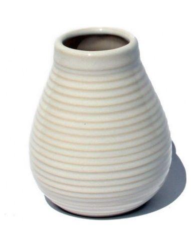 Matero ceramiczne białe