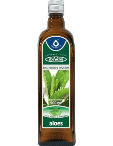 Aloes z miąższem 500ml*OLEOFARM*