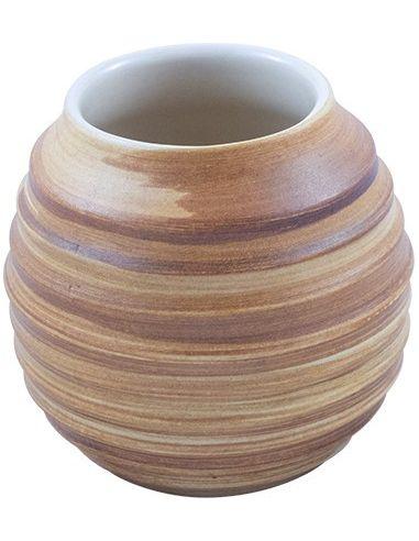 Matero ceramiczne duże 350ml miodowe...