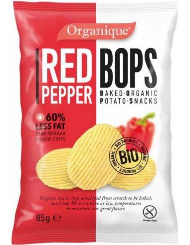 Chipsy **Bops** ziemniaczane paprykowe 85g*ORGANIQUE*BIO