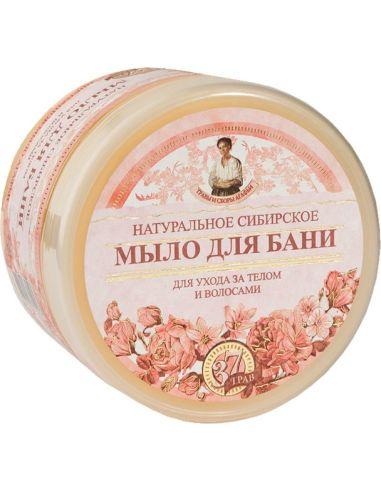 Mydło syberyjskie kwiatowe do ciała i włosów 500ml AGAFI