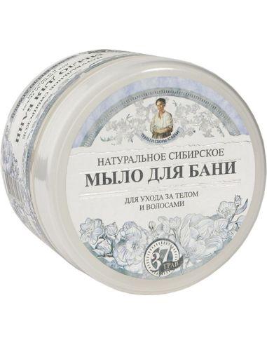 Mydło syberyjskie białe do ciała i włosów 500ml AGAFI