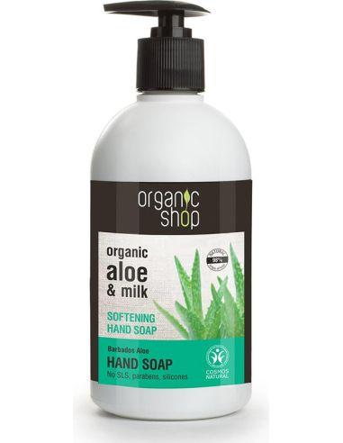 Mydło zmiękczające **Aloe & Milk** w...