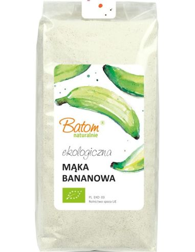 Mąka bananowa 500g BATOM BIO