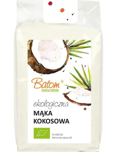 Mąka kokosowa 250g BATOM BIO