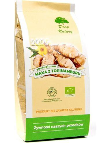 Mąka z topinamburu 500g DARY NATURY BIO