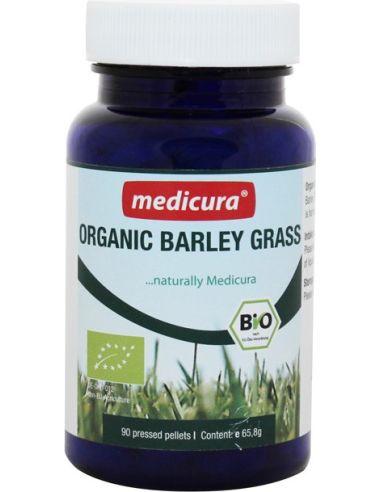 Młody zielony jęczmień **Trawa jęczmienna* tabletki 165szt / 65,8g*MEDICURA*BIO