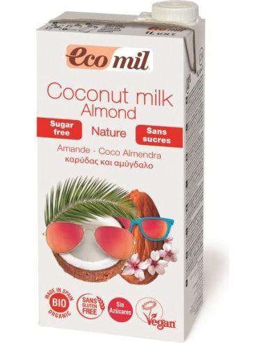 Napój kokosowy z migdałami bez cukru...