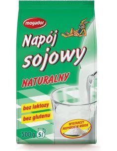 Napój sojowy naturalny w proszku 500g*MOGADOR*