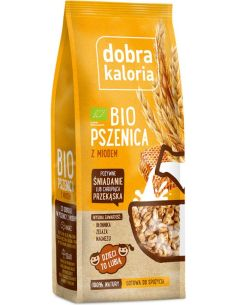 Chrupiąca pszenica z miodem 140g*DOBRA KALORIA*BIO