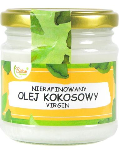 Olej kokosowy Virgin 200ml BATOM
