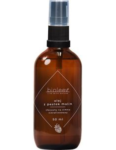 Olej kosmetyczny z pestek malin spray 50ml BIOLEEV