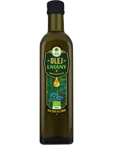 Olej lniany 250ml*DARY NATURY*BIO...