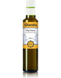 Olej lniany 250ml*OLANDIA*