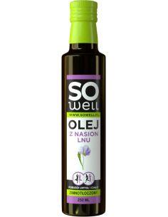 Olej lniany 250ml*SOWELL*
