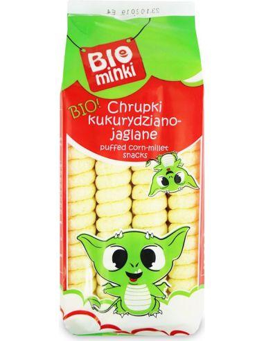 Chrupki jaglano- kukurydziane bezglutenowe 60g*BIO PLANET*BIO