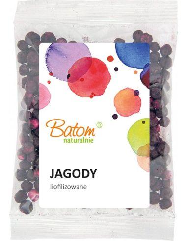 Owoce liofilizowane JAGODY 20g BATOM