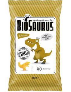 Chrupki kukurydziane bezglutenowe z serem 50g*BIOSAURUS*BIO