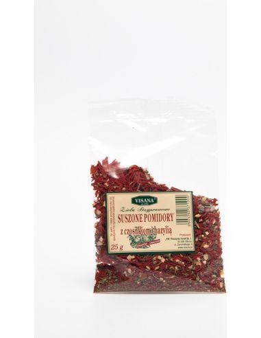 Pomidory suszone z czosnkiem 25g*VISANA*