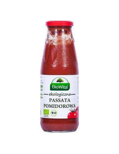 Przecier pomidorowy **Passata** 680g*EKOWITAL*BIO