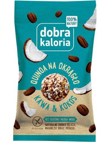 Przekąska **Quinoa Na Okrągło** kawa...