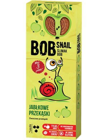 Przekąska owocowa jabłko 30g*BOB SNAIL*