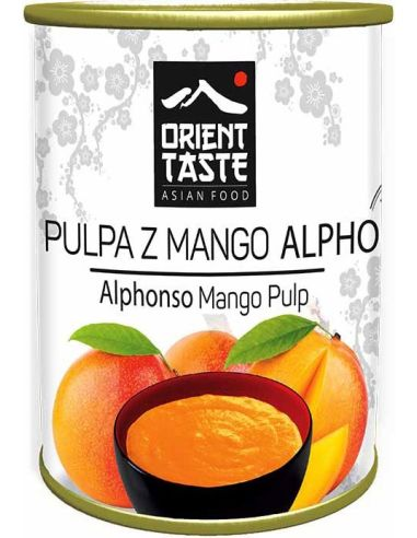 Pulpa z mango bez cukru puszka...